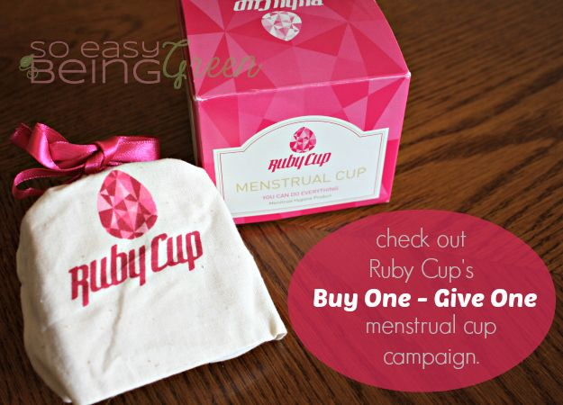 I've reviewed a few different menstrual cups now and up next is the Ruby Cup - which comes with a unique story about sharing menstrual cups in Kenya.
