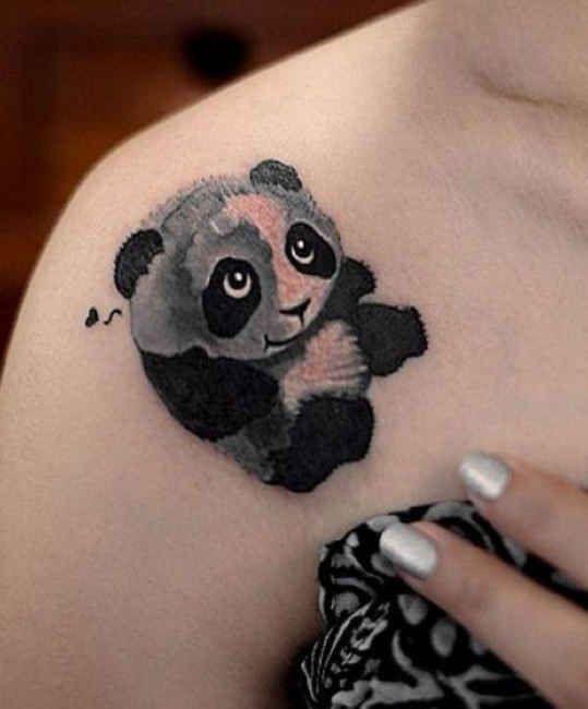 43 best koala heart tattoo images on pinterest koala for Baby panda tattoo