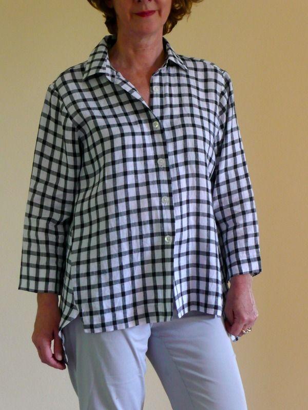 Tessuti Fabrics Jac Shirt Pattern reviewed by brooksi