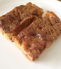 Kaneel appel cake met caramel
