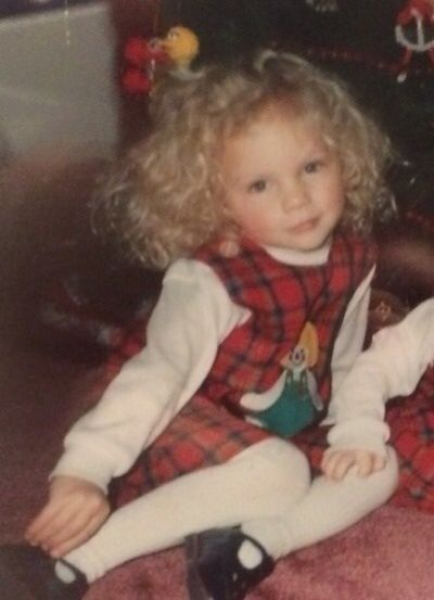 Taylor Swift 4 yrs. old