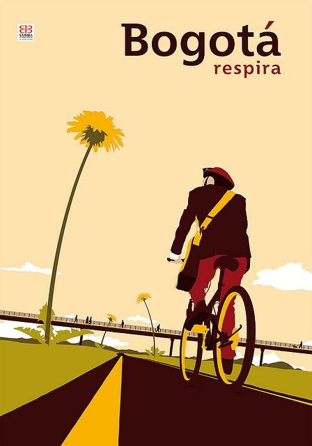 Finalista / Cartel / Bogotá respira / IV Bienal de afiches / Cámara de comercio / Exposición itinerante / ARTBO 2009