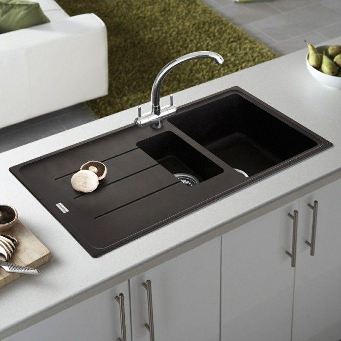 die besten 25+ spülbecken ideen auf pinterest | badezimmer ... - Küchenschrank Mit Spüle