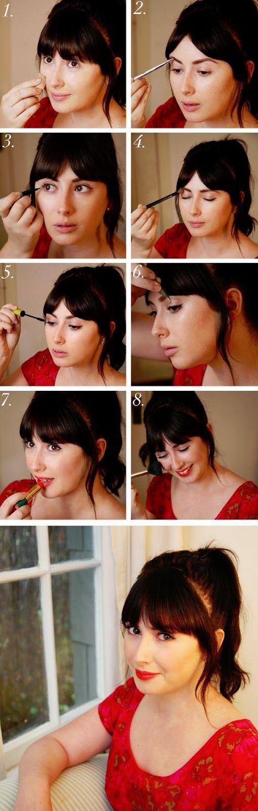 the 25+ best 1950s makeup tutorial ideas on pinterest | vintage