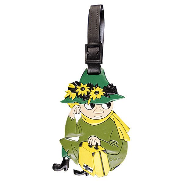 3 Dimensional Luggage tag with beloved characters from the Moomin Valley!