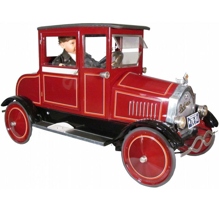 1925 american national packard coupe kids pedal car contemporary model one of three made