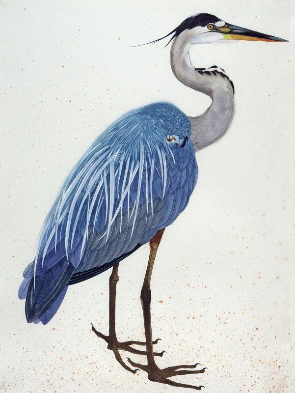 Statement Clutch - Flying egret by VIDA VIDA M0K7lhRv