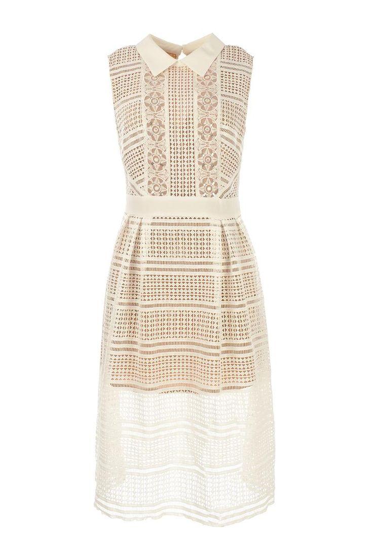 L'atelier D Tampico Lace Art Deco Dress