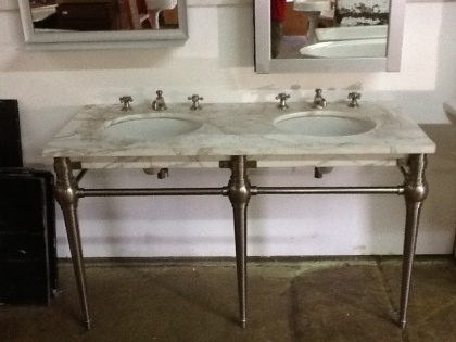 Brownstoner Forum Marble Console Sink Victorian Pinterest Aprons Consoles And Marbles