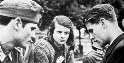 The White Rose Society- a non-violent student organization protesting the Nazi Regime
