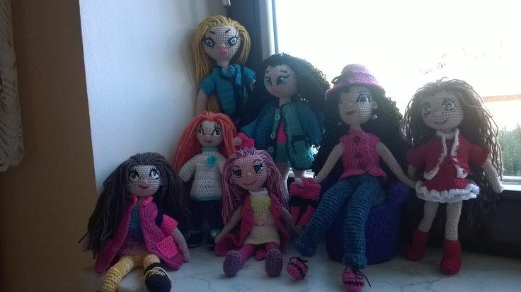 Háčkovaná panenka amigurumi  #amigurumi dolls