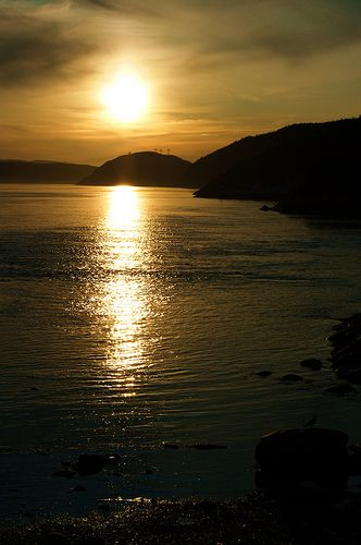 Fjord du Saguenay, Quebec, Canada
