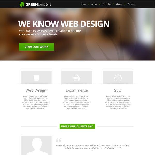 436 best PSD Templates images on Pinterest | Psd templates, Design ...