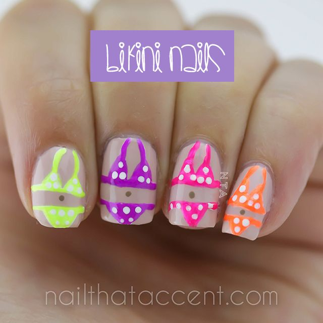 Bikini Nails for