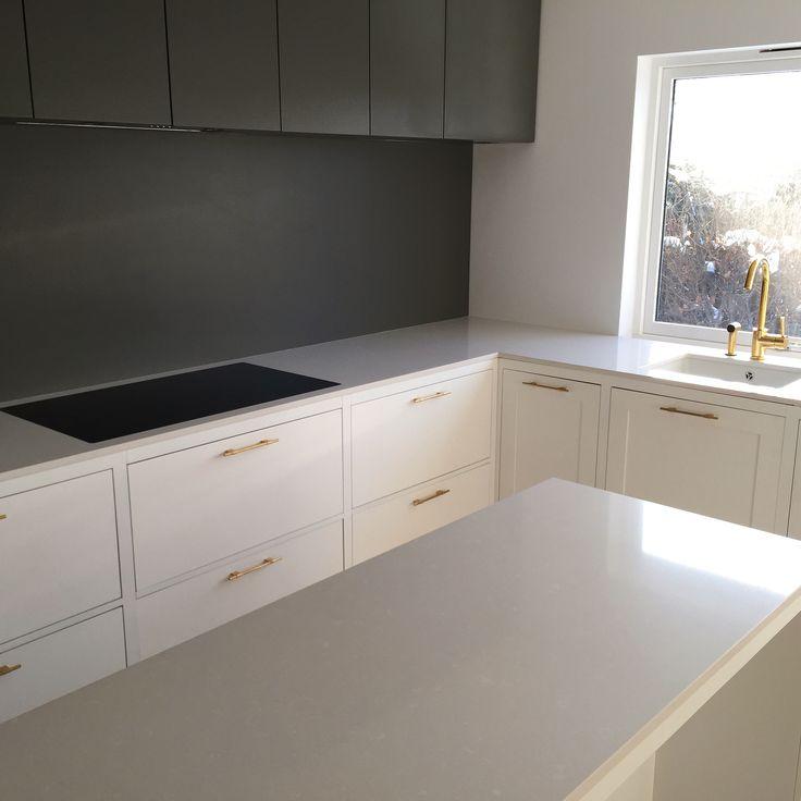 Kjøkken inspirasjon | Silestone | Yukon | Benkeplate - Kitchen ideas | Design | Sileston | Countertop