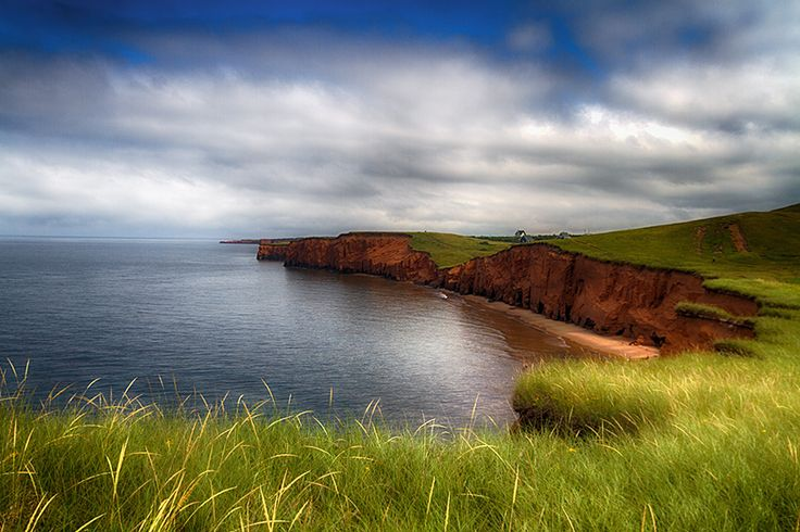 Magdalen Islands Red Cliffs by Gino Caron, via 500px
