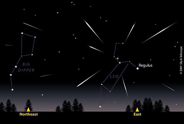 Leonid meteors tonight! (Nov 16, 2012)