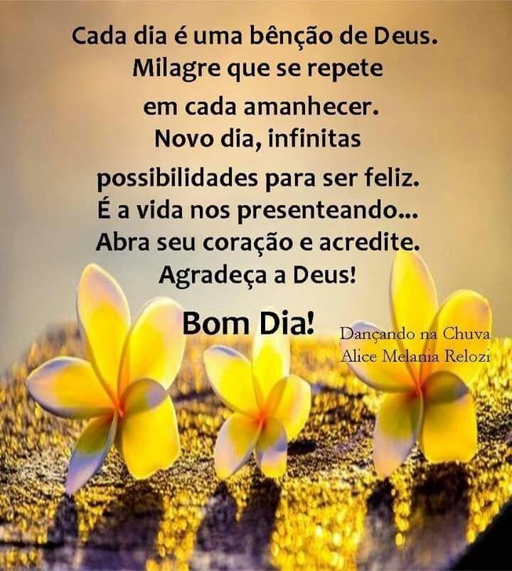 Pin De Fatima Borges Em Bom Dia Bom Dia De Deus Bencao De Deus