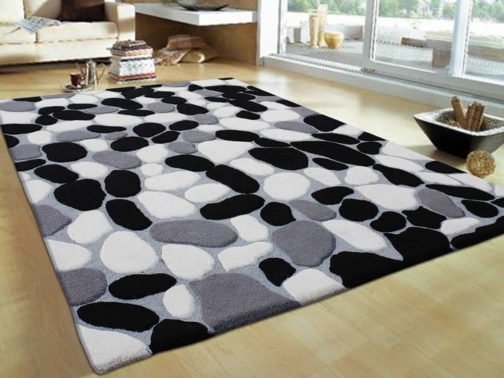 InteriorBlack White And Grey Combination Types Of Carpets RugsAwesome Collection Rugs For Your Interior Livingroom Design Ideas