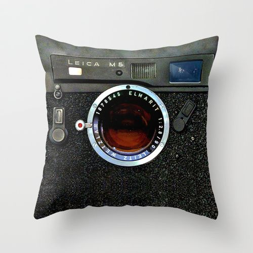 "classic retro army look steampunk camera cushion Pillow Case 20""  $18.89 #Pillow #PillowCase #PillowCover #CostumPillow #Cushion #CushionCase #PersonalizedPillow #SocietySix #classic #retro #army #look #steampunk #camera #leicam5 #photography #rangefinder"