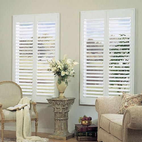 1000 ideas about interior window shutters on pinterest - Interior vinyl shutters for windows ...
