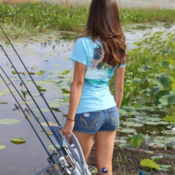 859 best so sch n kann angeln sein images on pinterest for Girl fishing pole