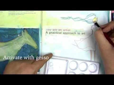 Art Lesson Vol. 1 with Jane Davenport: Inktense Intensive - YouTube