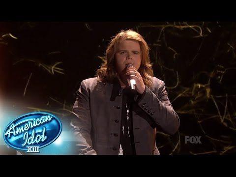 """▶ ▶ Top 4 -- Caleb Johnson """"Maybe I'm Amazed"""" - AMERICAN IDOL SEASON XIII - YouTube"""