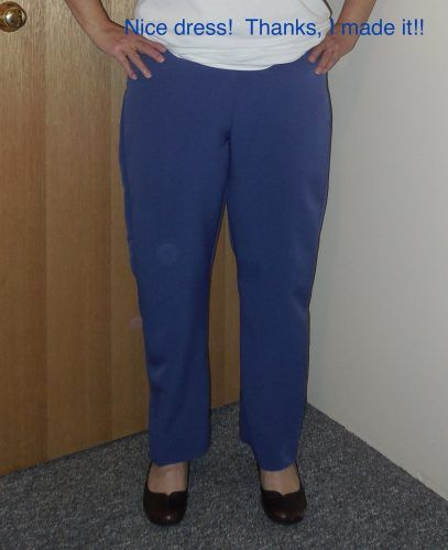 Self drafted trousers