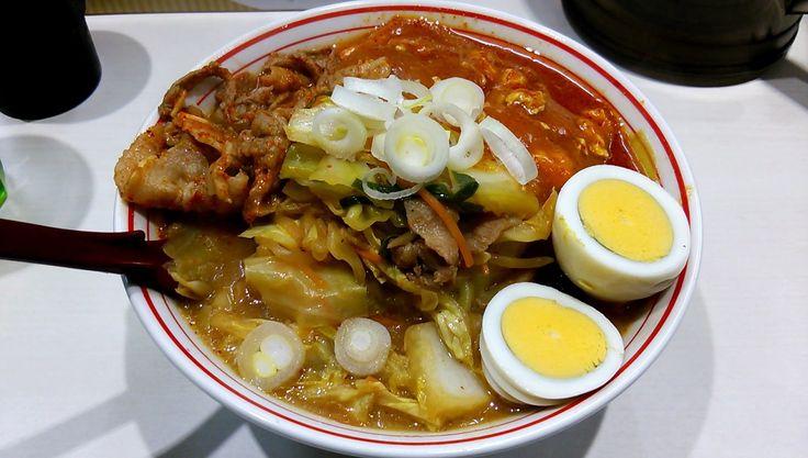 五目蒙古タンメン + 野菜大盛(蒙古タンメン中本 東池袋店) | 以上、レポっす。