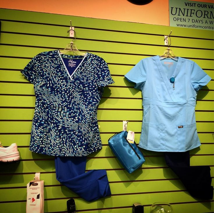 """2 Likes, 1 Comments - Lady Mae Uniforms (@ladymaeuniforms) on Instagram: """"Hi! It's all #blue at @ladymaeuniforms right now. Check out our amazing #fall colours in store now!…"""""""