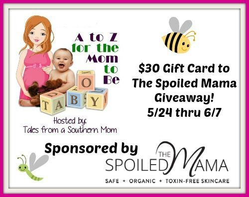 Enter #ad to WIN $30 GC To The Spoiled Mama Giveaway http://bit.ly/1TuRwzs