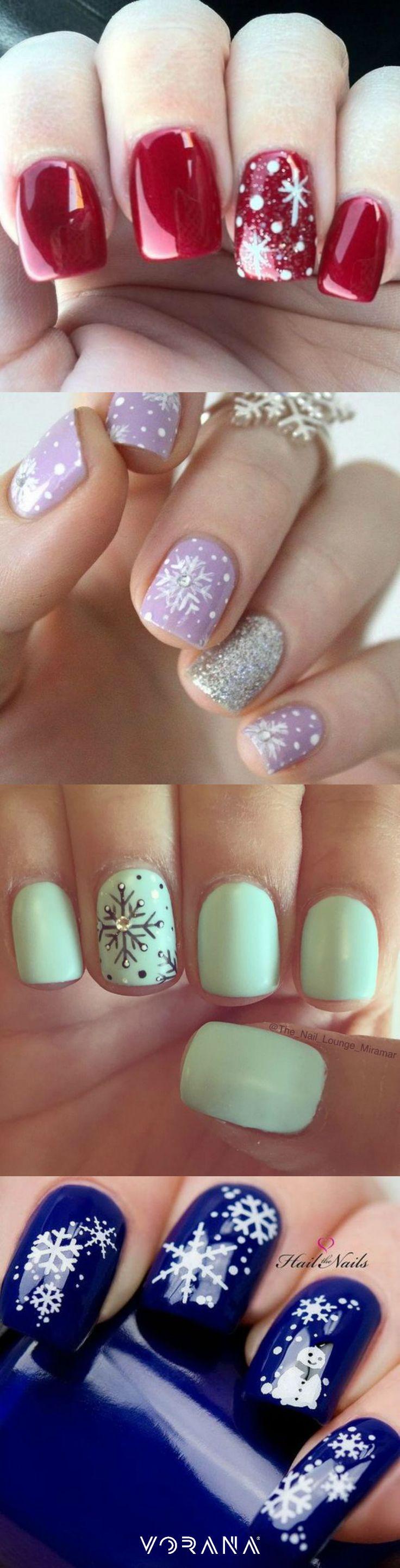 ¡Uñas navideñas! #Navidad #Uñas #Nails