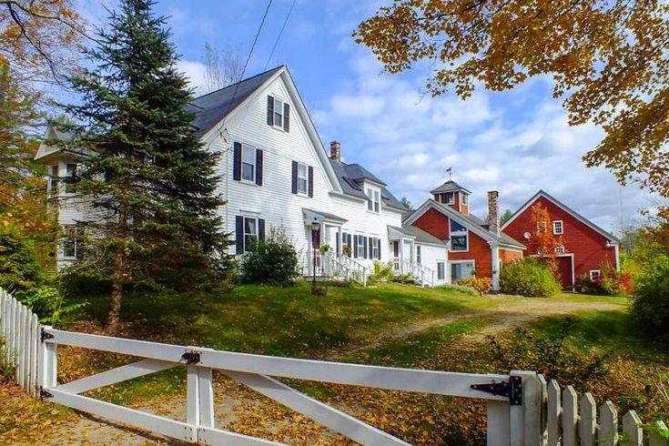 Historic Farmhouse on 116 Acres Old houses, Historic
