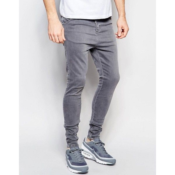 clothing men 39 s jeans grey mens super skinny jeans mens grey skinny. Black Bedroom Furniture Sets. Home Design Ideas
