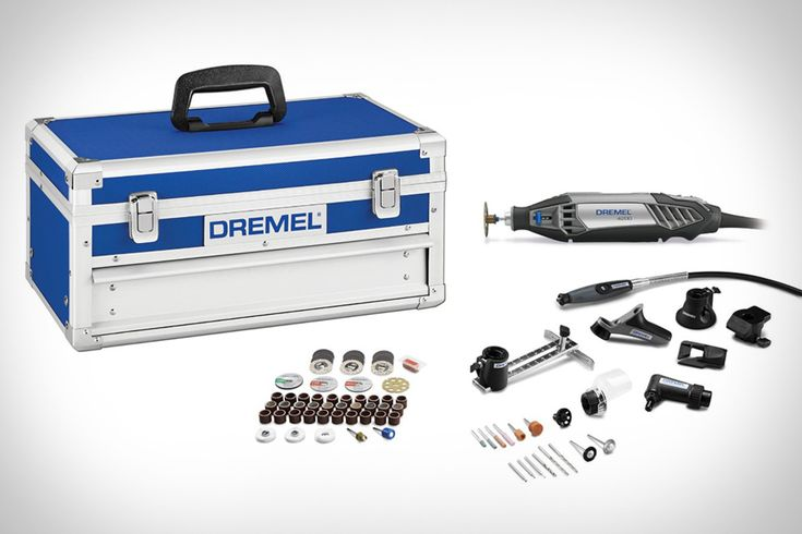 Whether you're cutting, grinding, detailing, or polishing, the Dremel 4200 Platinum Edition Rotary Tool is the tool for the job. Their easy-change mechanism lets you quickly change out any accessory, depending on the task at hand - and with 77...