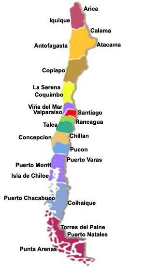 DIÁRIO DE UM CASAL MOCHILEIRO: Roteiro Chile, Santiago e Região dos Lagos