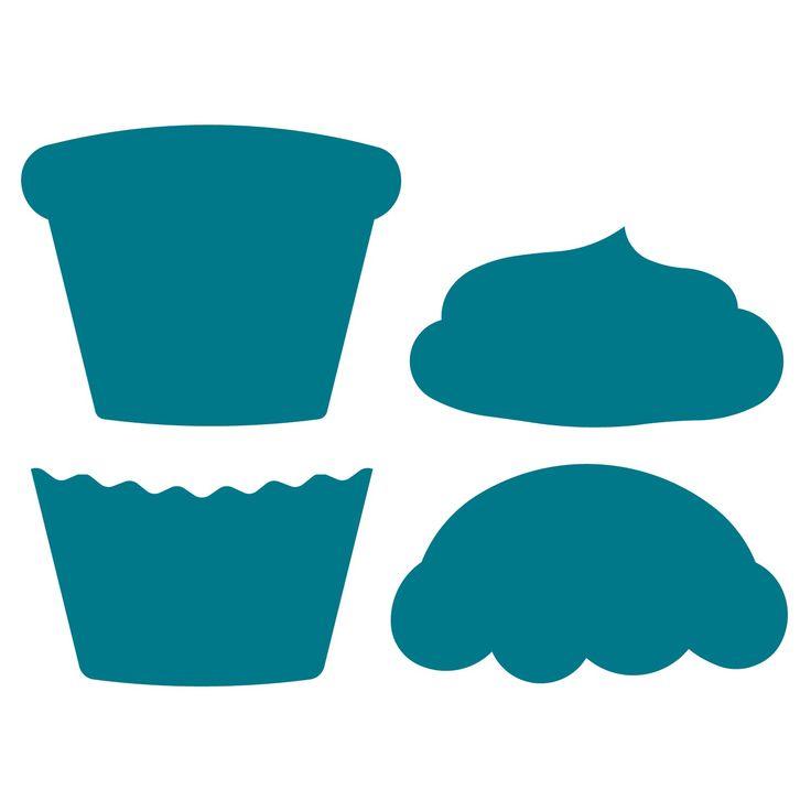 Cupcake #2 Steel-Rule Die   AccuCut Craft
