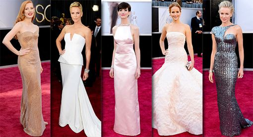 Oscars 2013 Fashion Red Carpet Trends and Inspiration ...