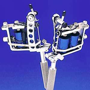Spaulding Lightweight Quick Change Tattoo Machine with 8-Wrap Coils
