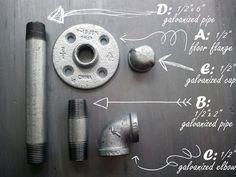 TFD Style: Super Easy DIY Industrial Toilet Paper Holder Tutorial