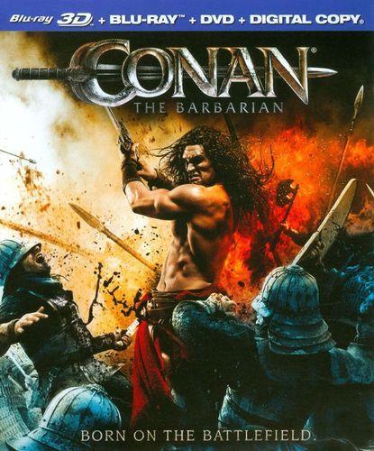 Conan the Barbarian [2 Discs] [3D] [Blu-ray/DVD] [Blu-ray/Blu-ray 3D/DVD] [2011]
