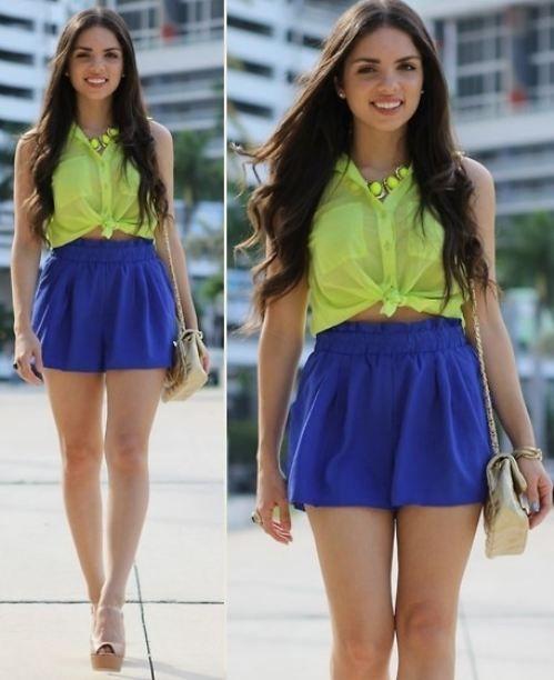 Short Shorts Mini Skirt 86