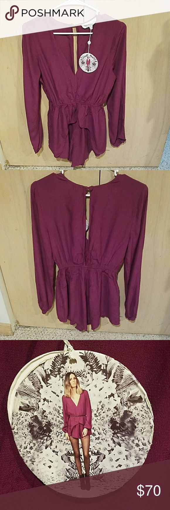 Finders Keepers playsuit stronger than me stronger than me playsuit, finders keepers new with tags.. very beautiful  Offers welcome.. Finders Keepers Dresses