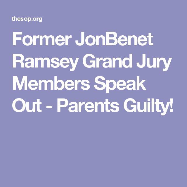 Former JonBenet Ramsey Grand Jury Members Speak Out - Parents Guilty!