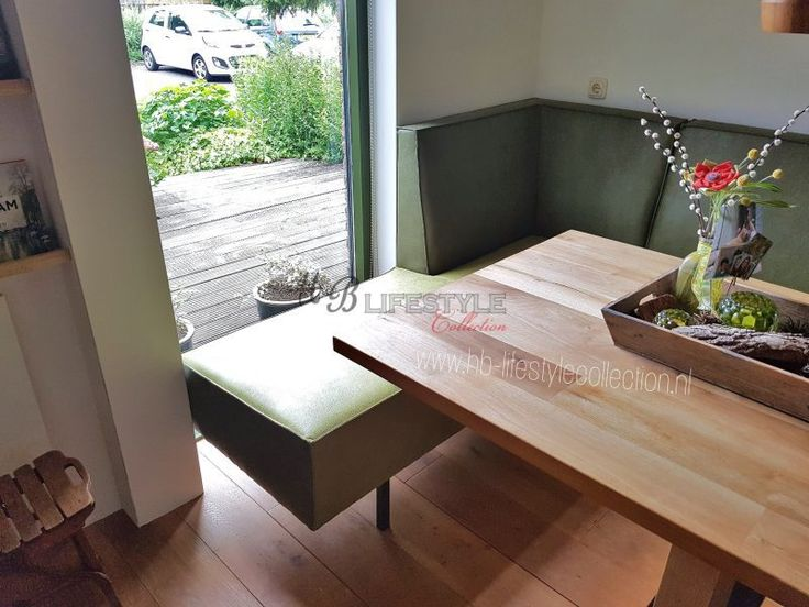 hoekbankje eettafel - HB Lifestyle Collection