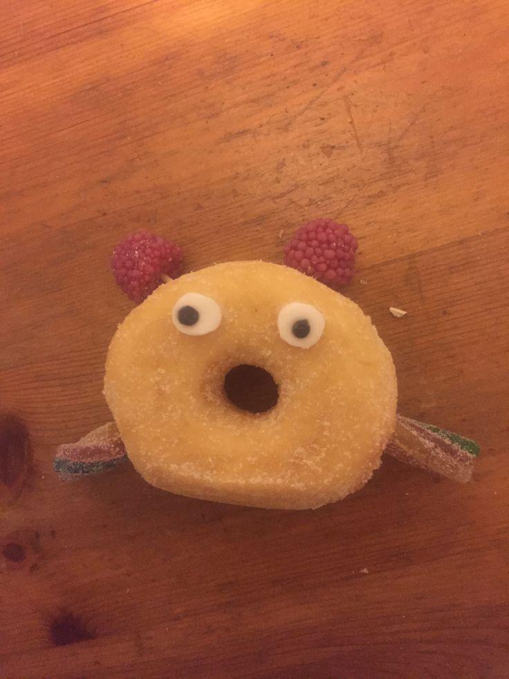 Donut traktatie Floor.