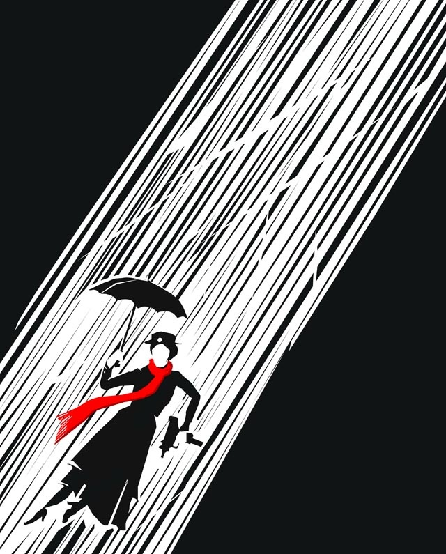 Mary Poppins by Frank Miller