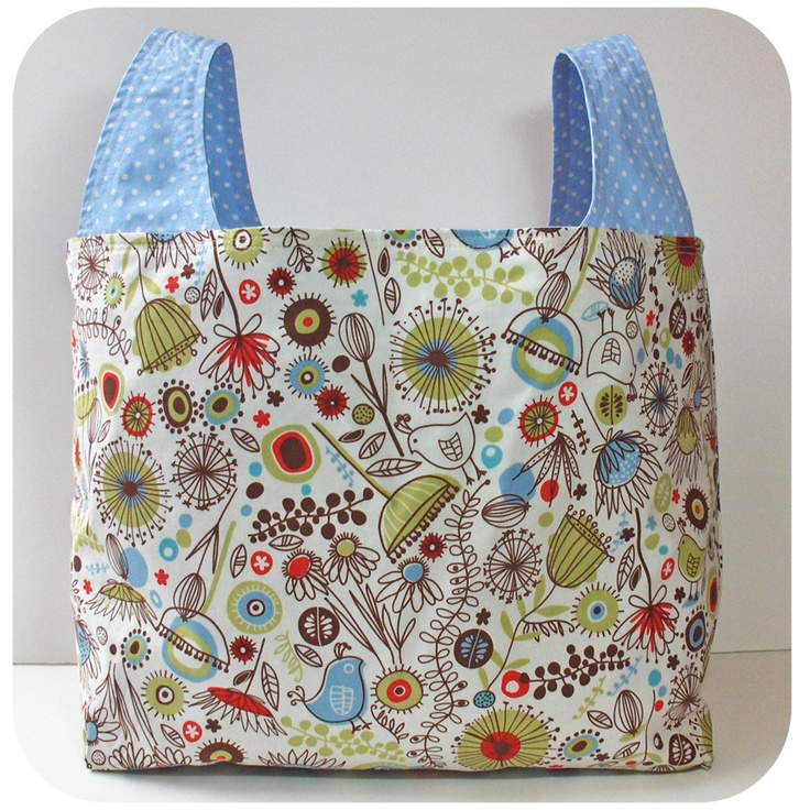 Fabric Grocery Bags Pattern Free Jaguar Clubs Of North