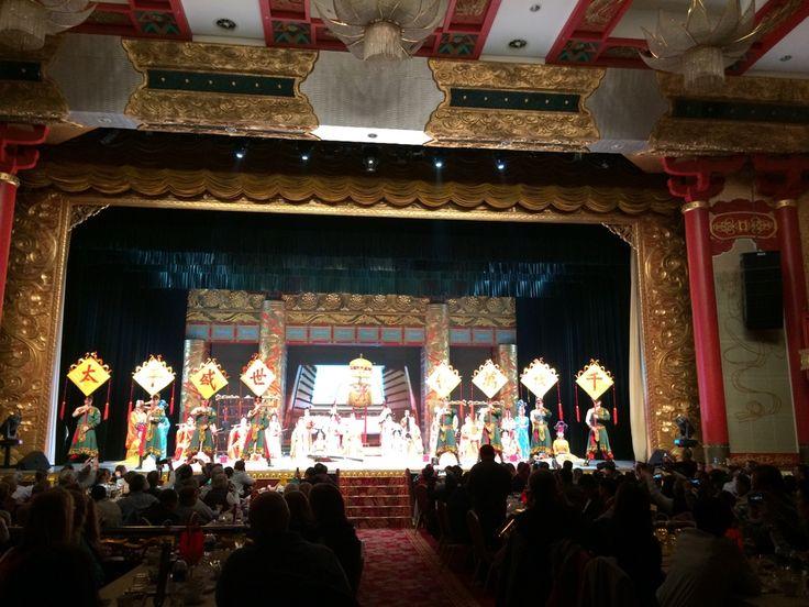 Dance Show in Xian!! Show de danza en Xian!!!